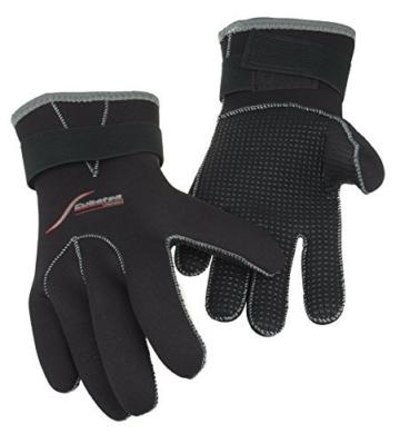 SCUBATEC 3mm Handschuhe, schwarz, L (9) -