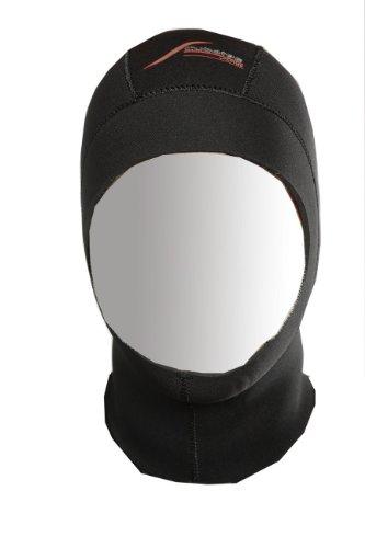 SCUBATEC Neoprenhaube Tauchhaube 1 mm schwarz M -