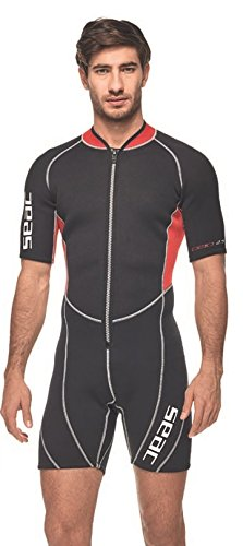 Seac Herren Neopren und mehr SEALIGHT, Black - Black / Red, XXXXL -
