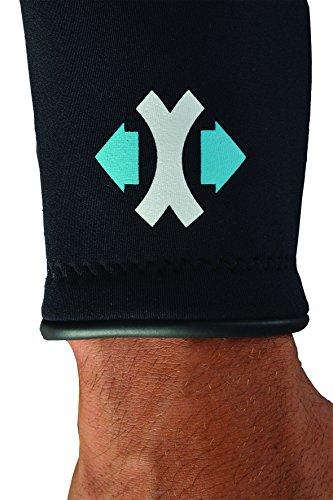 SEAC Herren Sense Short 2,5mm Neoprenanzug, Blau, XXXXL -
