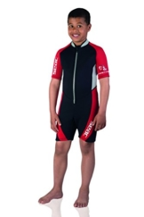Seac Kinder Ciao Shorty Neoprenanzug mit Front-Reißverschluss 5 schwarz / rot -