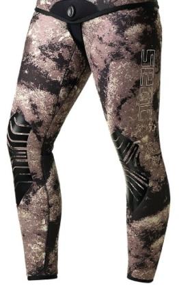 SEAC Men's, Python Neoprenanzug Hose 3,5 mm-XX-Large -