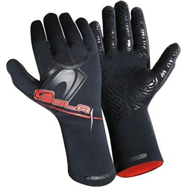 Sola Superstretch Neopren-Handschuhe - schwarz, XL /5 mm -