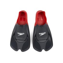 Speedo Unisex Biofuse Flossen, rot/schwarz, EU 44-46 (UK 10-11), 8-08841399110-11 -