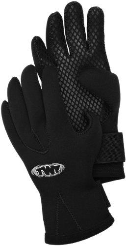 TWF 3 mm Handschuhe - schwarz, S -